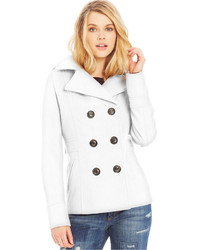 White Pea Coats for Women | Women's Fashion