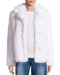 Michl michl kors faux fur peacoat medium 968720
