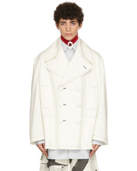 JW Anderson Off White Tom Of Finland Oversized Peacoat Jacket