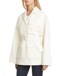 Co Tton Wool Safari Jacket