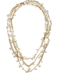 Rosantica Chimera Extra Long Multi Strand Pearl Necklace