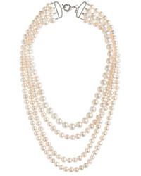 J.Crew Four Strand Pearl Necklace