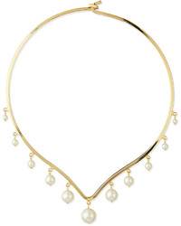 Dannijo North Pearl Collar Necklace