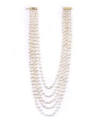 Rosantica Pegaso Five-Strand Freshwater Pearl Necklace idbgwyjf
