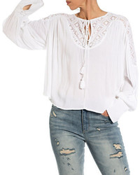 Women S Peasant Blouses From Lord Taylor Women S Fashion
