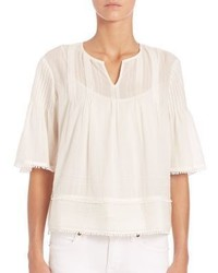 Burberry Brit Peasant Tunic Blouse