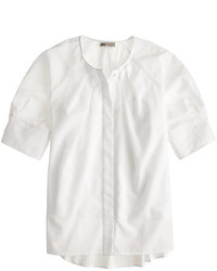 Collection thomas mason for cotton voile peasant top medium 205834
