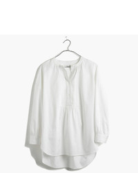Madewell Drop Sleeve Popover Shirt