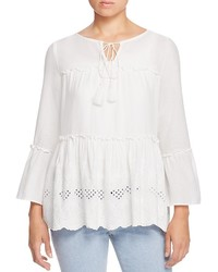 Vero Moda Embroidered Peasant Blouse