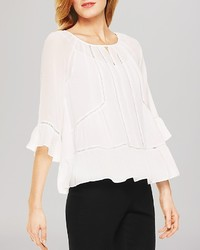 Vince Camuto Ruffled Peasant Blouse