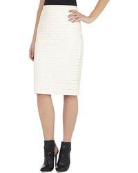 BCBGMAXAZRIA Faith Striping Pencil Skirt