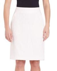 Pauw Cotton Linen Pencil Skirt