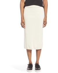 Eileen Fisher Cashmere Knit Pencil Skirt