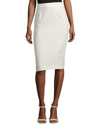 Escada Eve Matelasse Pencil Skirt