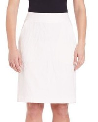 Pauw Cotton Linen Pencil Skirt