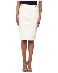 Calvin Klein Pencil Skirt W Hardware
