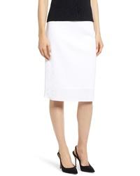Ming Wang Pencil Sweater Skirt