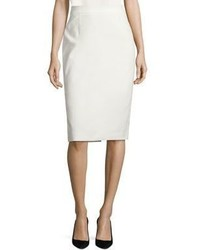 Escada Rava Stretch Cotton Pencil Skirt