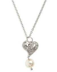 Miu Miu Heart Pendant Necklace