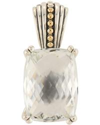 Lagos Prism White Topaz Pendant Enhancer