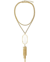 Kendra Scott Rayne Pendant Necklace Mother Of Pearl