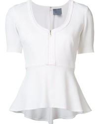 Maiyet peplum hem top medium 753257