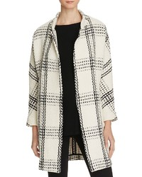 Ewa oversized check coat medium 3645204