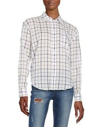 Elizabeth and James Carine Plaid Shirt