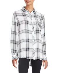 Leigh plaid shirt medium 847047
