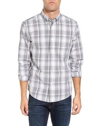 Jack Spade Palmer Trim Fit Plaid Sport Shirt