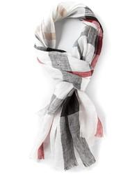 Nova check scarf medium 165123