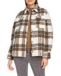 Isabel Marant Etoile Plaid Shirt Jacket
