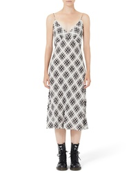 Marc Jacobs Plaid Silk Slipdress