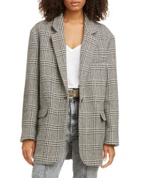 Isabel Marant Etoile Ondine Oversize Wool Blend Blazer