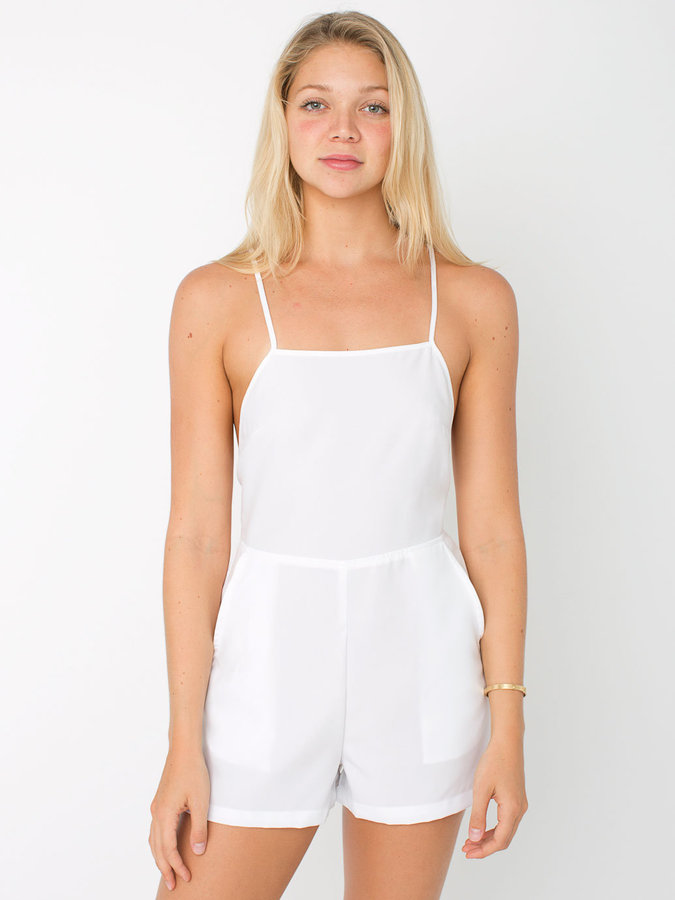 f30c373d0c1 ... Playsuits American Apparel Crossback Romper ...