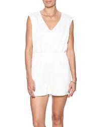 Glamorous Ladies White Playsuit