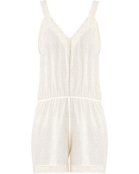 Morpho Luna Monny Fil Coup Cotton Playsuit