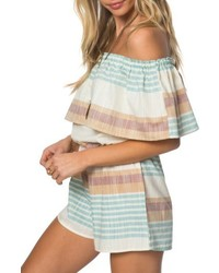 O'Neill Pearce Off The Shoulder Romper