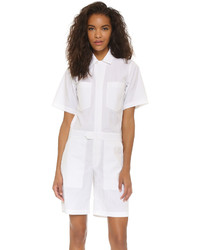 Alexander Wang T By Techy Flight Suit Romper