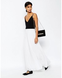 Asos Pleated Maxi Skirt