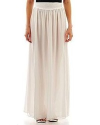 By mango chiffon maxi skirt medium 83497