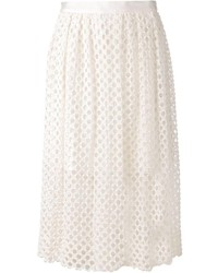 Lela rose guipure lace skirt medium 164416
