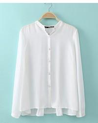 Chicnova pleated chiffon blouse medium 166118
