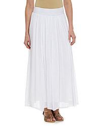 Nurture Pleated Waist Maxi Skirt