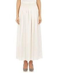 The Row Shantung Tovo Maxi Skirt White
