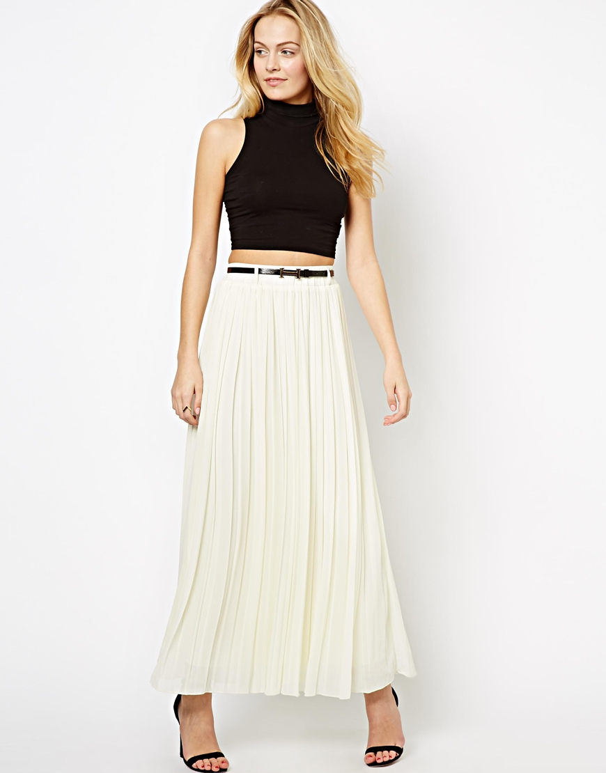 The Style Pleated Maxi Skirt | Where to buy & how to wear
