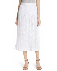 Carine eyelet midi skirt medium 6987478