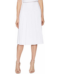 Alice + Olivia Joann Pleated Midi Skirt