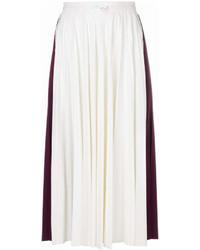 Pleated midi skirt medium 6987457