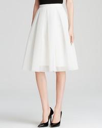 Aqua Skirt Mesh Neoprene Midi